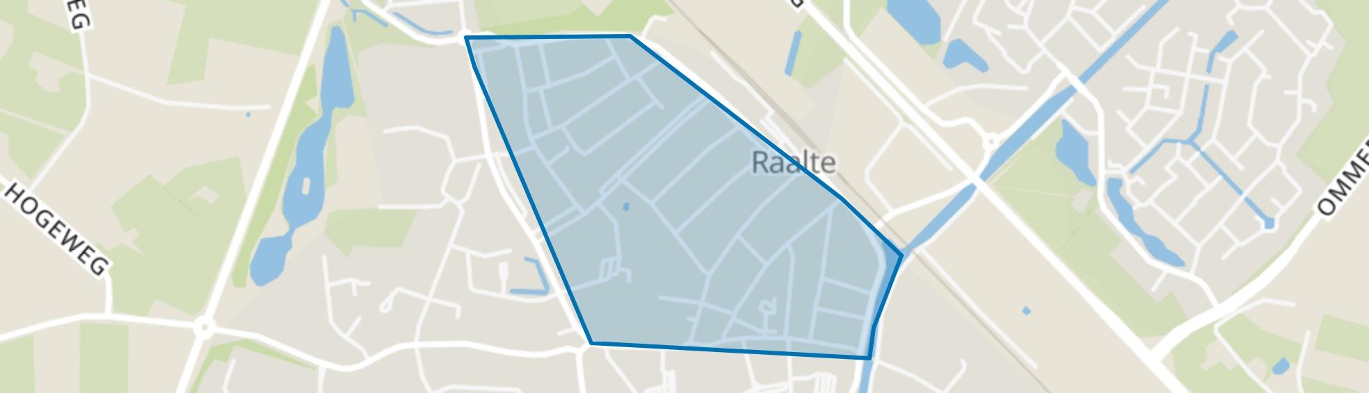 Blekkerhoek, Raalte map