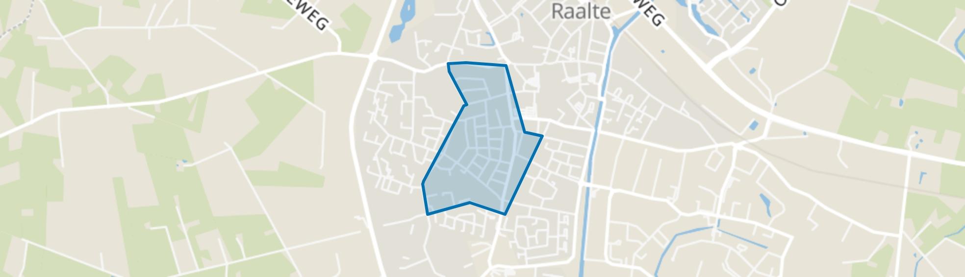 Westdorp, Raalte map