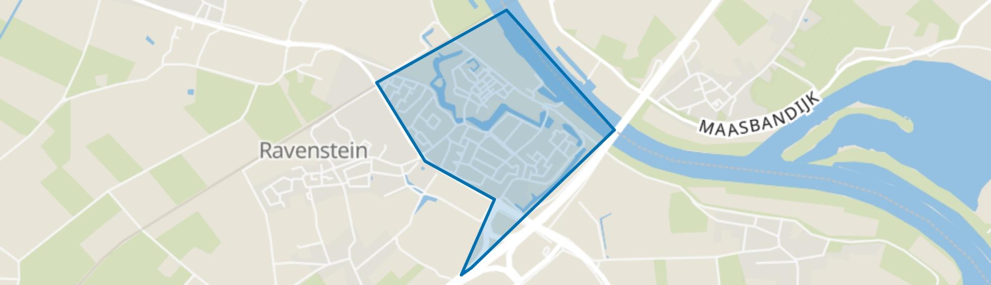 Ravenstein, Ravenstein map