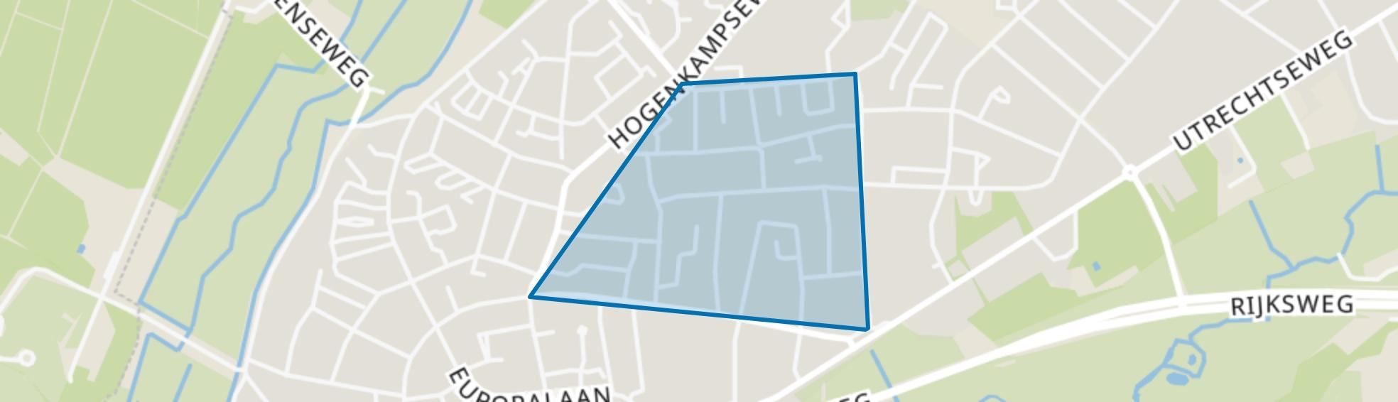 De Enk, Renkum map