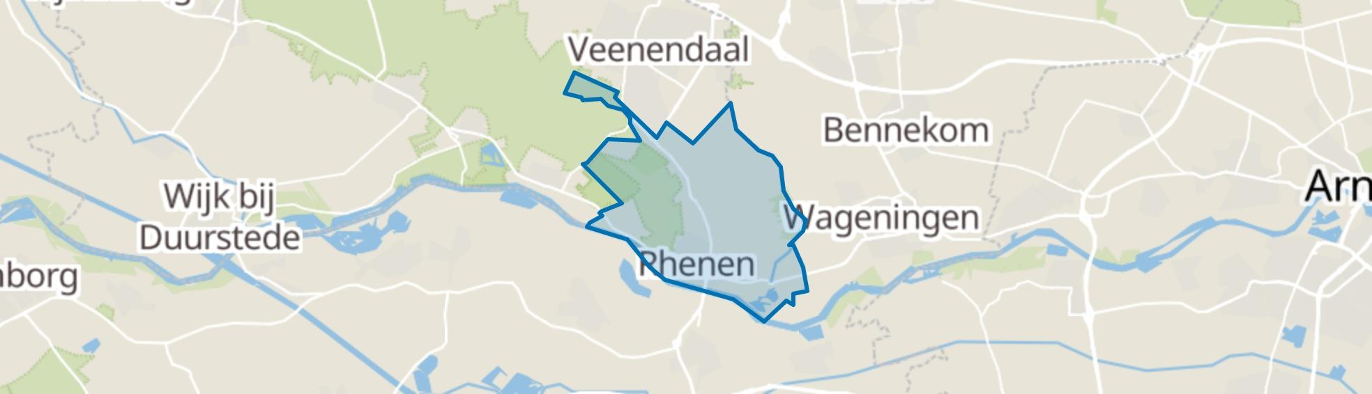 Rhenen map