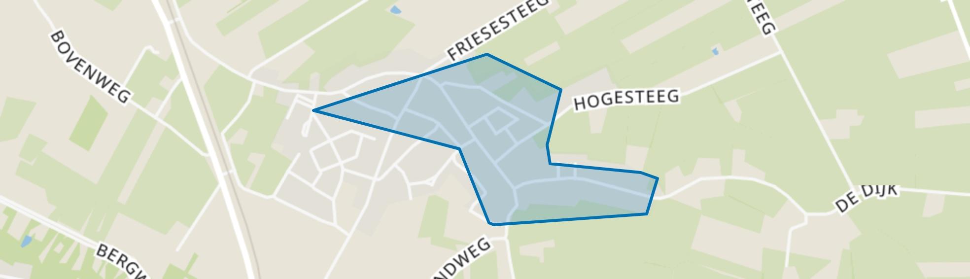 Achterberg, Rhenen map