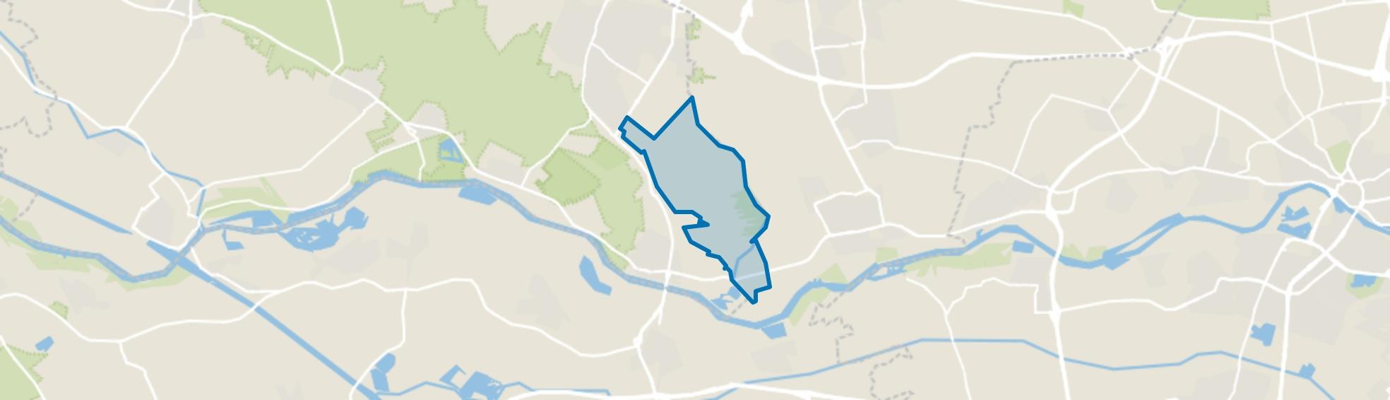 Binnenveld, Rhenen map