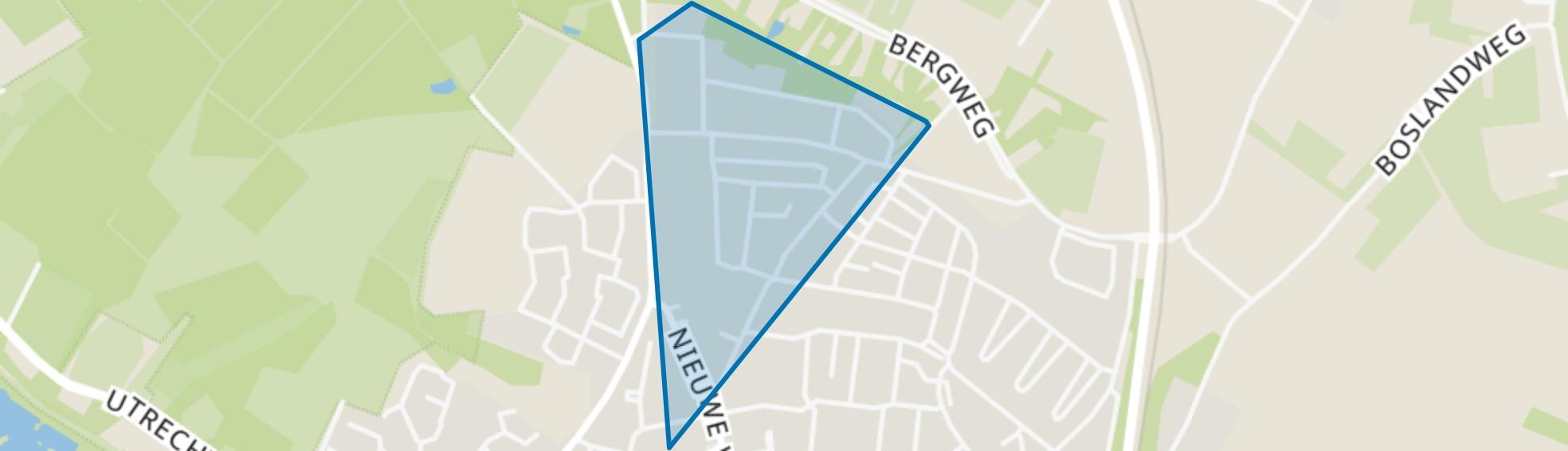Domineesberg, Rhenen map