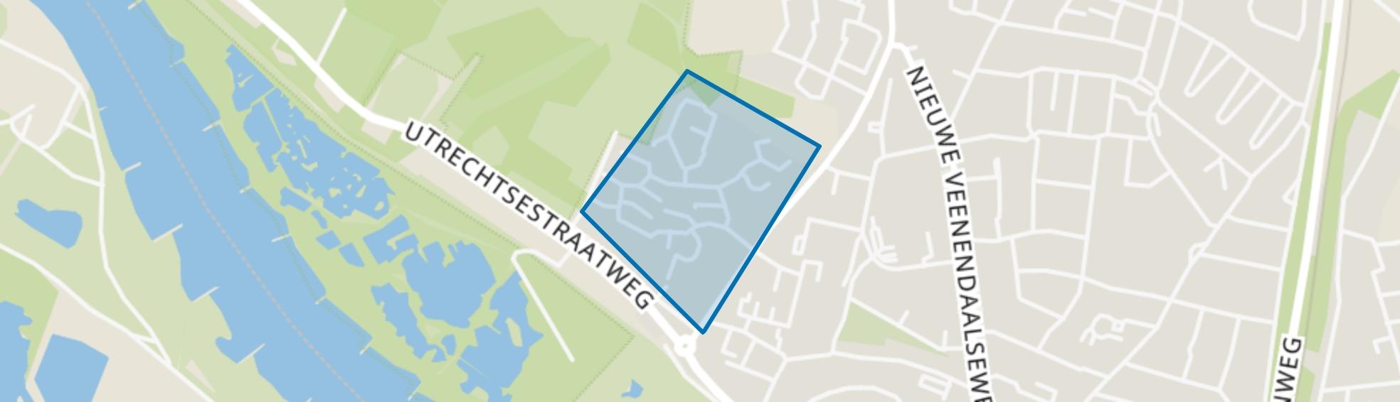 Donderberg, Rhenen map