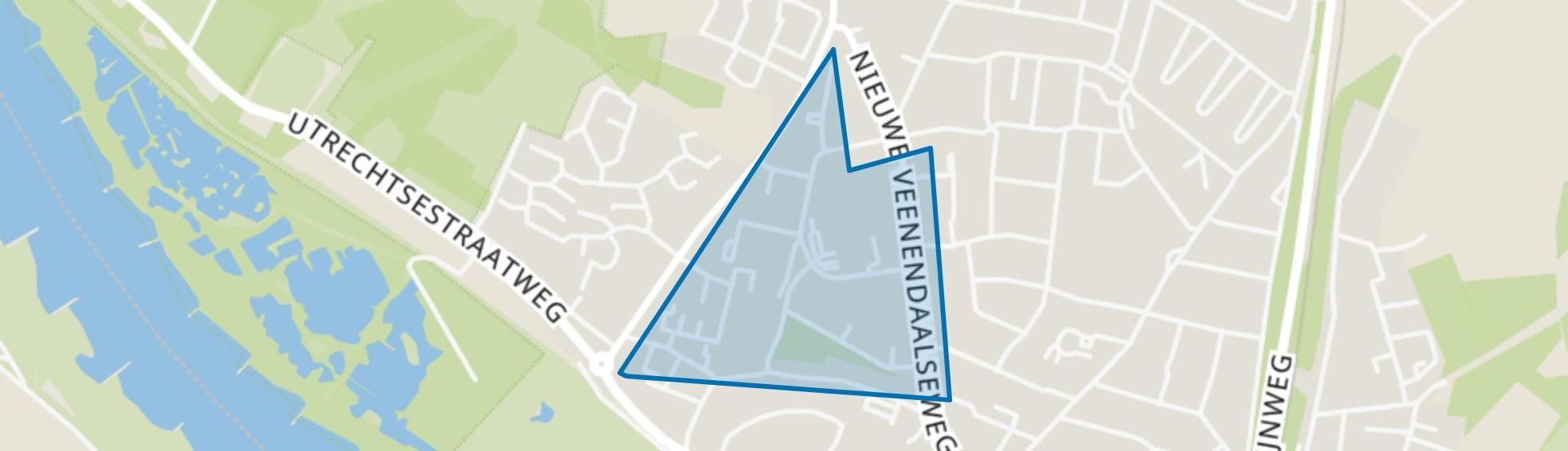 Molenberg, Rhenen map