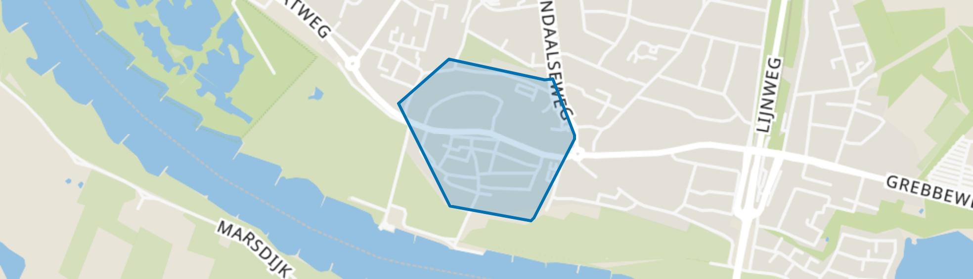 Rhenen Binnenstad, Rhenen map