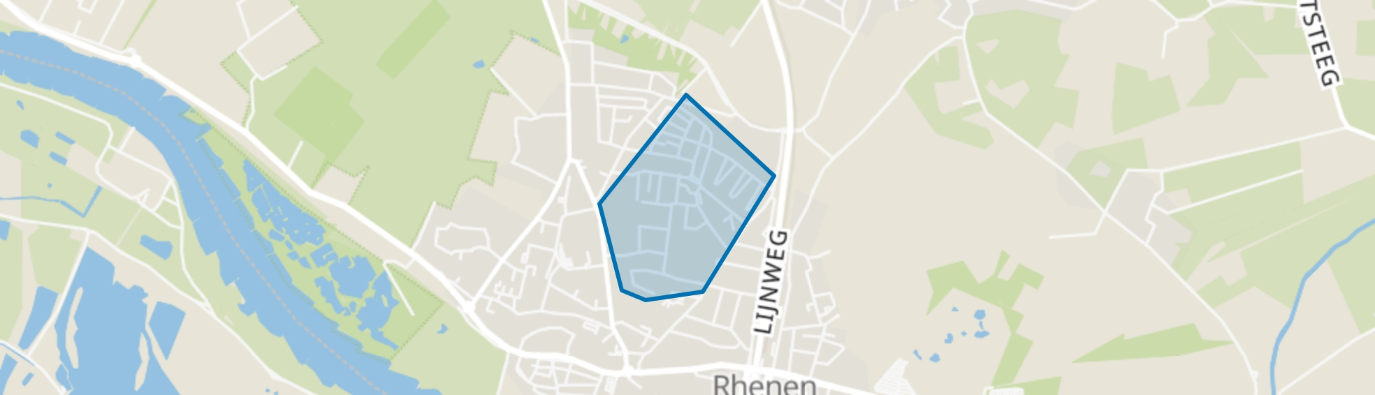 Rhenen Hoog, Rhenen map