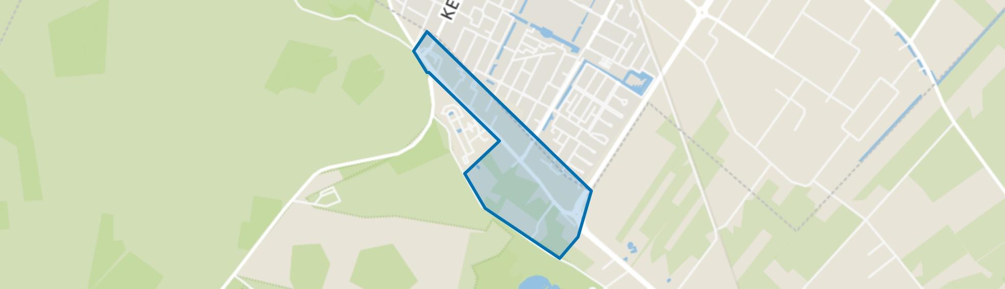 Veeneind, Rhenen map