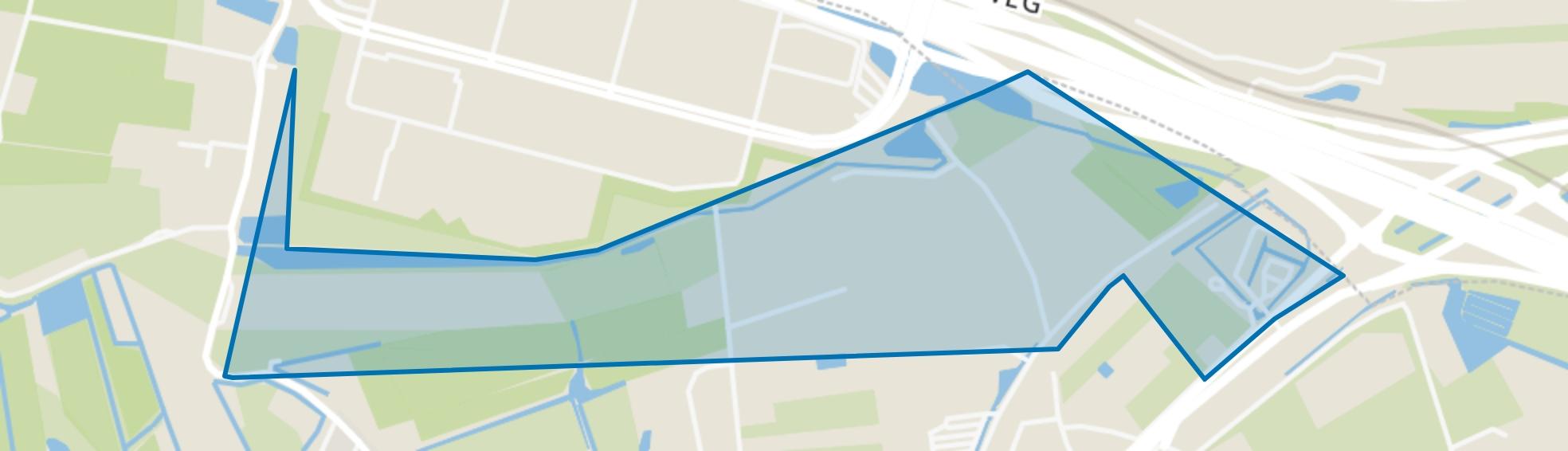 Buitengebied Rhoon-Noord, Rhoon map