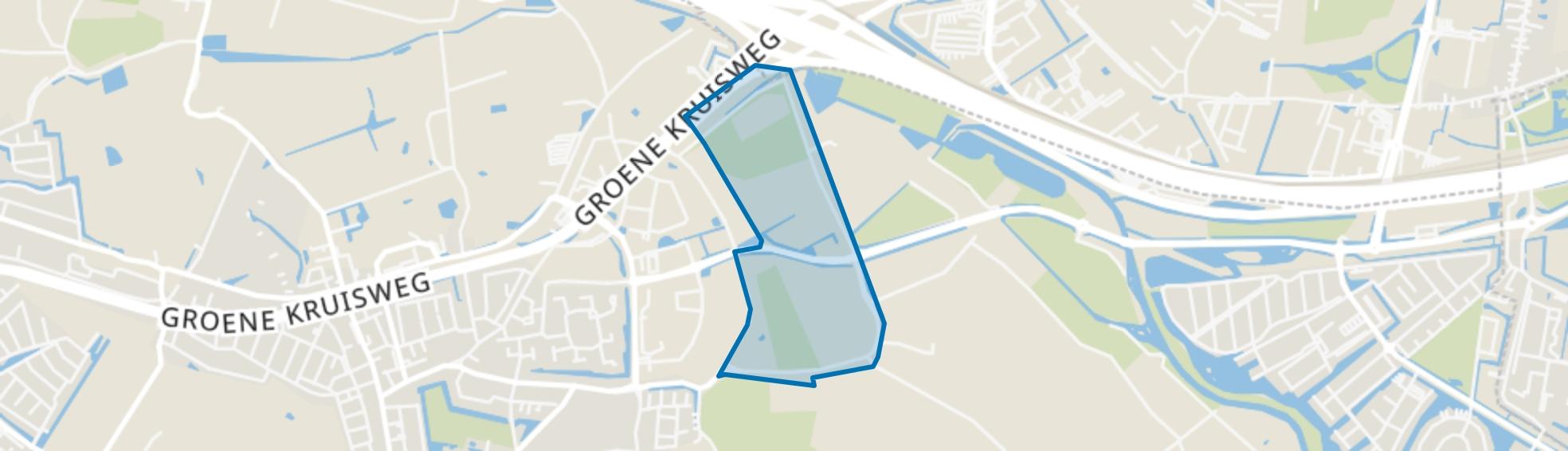 Buitengebied Rhoon-Zuid, Rhoon map