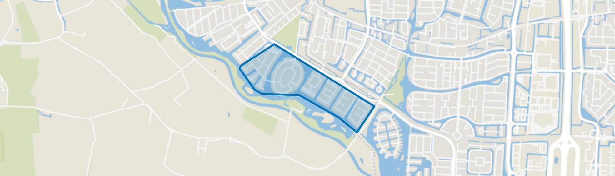 De Eilanden, Rhoon map