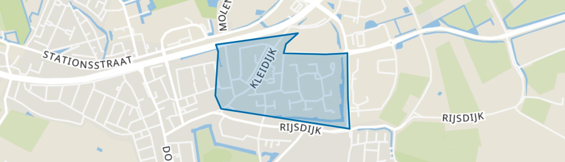 Ghijseland, Rhoon map