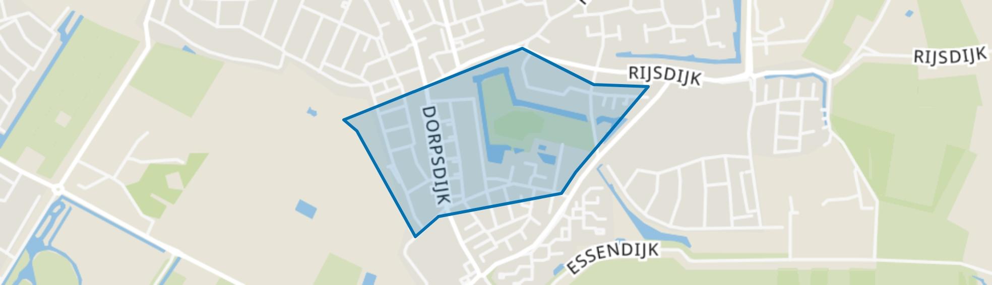 Park Rhoon, Rhoon map