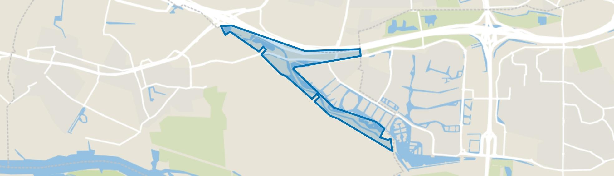 Portland-Koedoodzone, Rhoon map