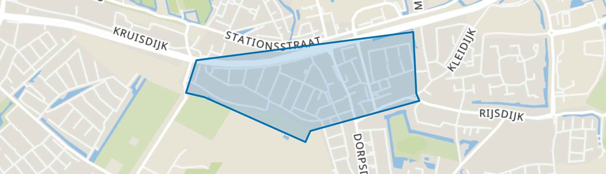 Rhoon-Centrum, Rhoon map