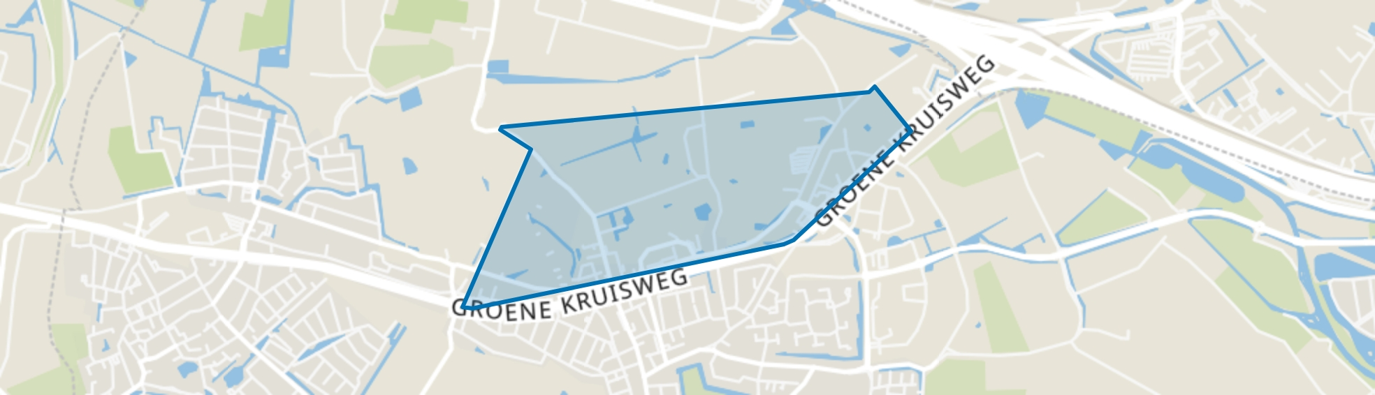 Rhoon Noord, Rhoon map