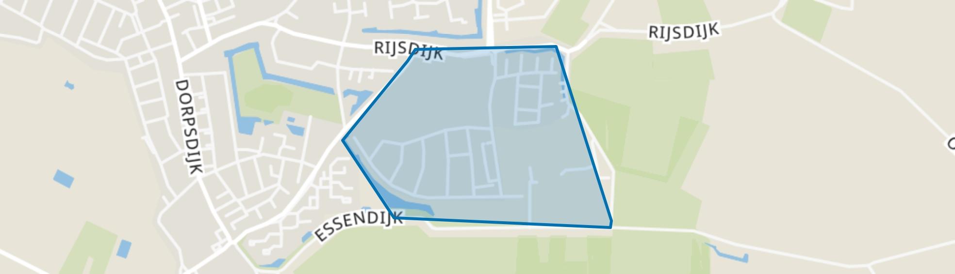 Rhoon-Zuidoost, Rhoon map