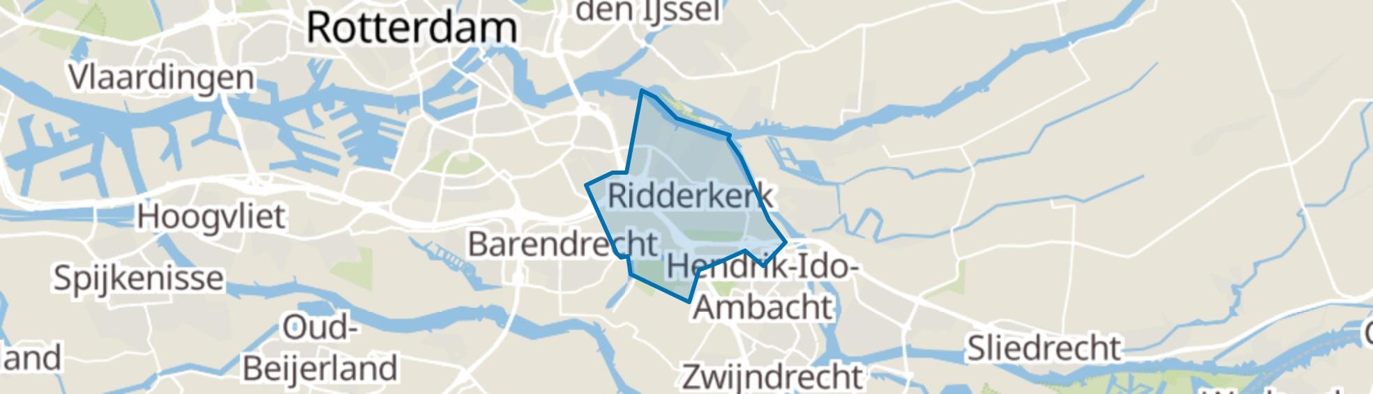 Ridderkerk map