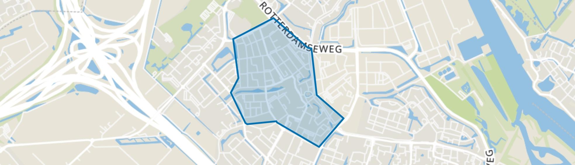 Centrum, Ridderkerk map