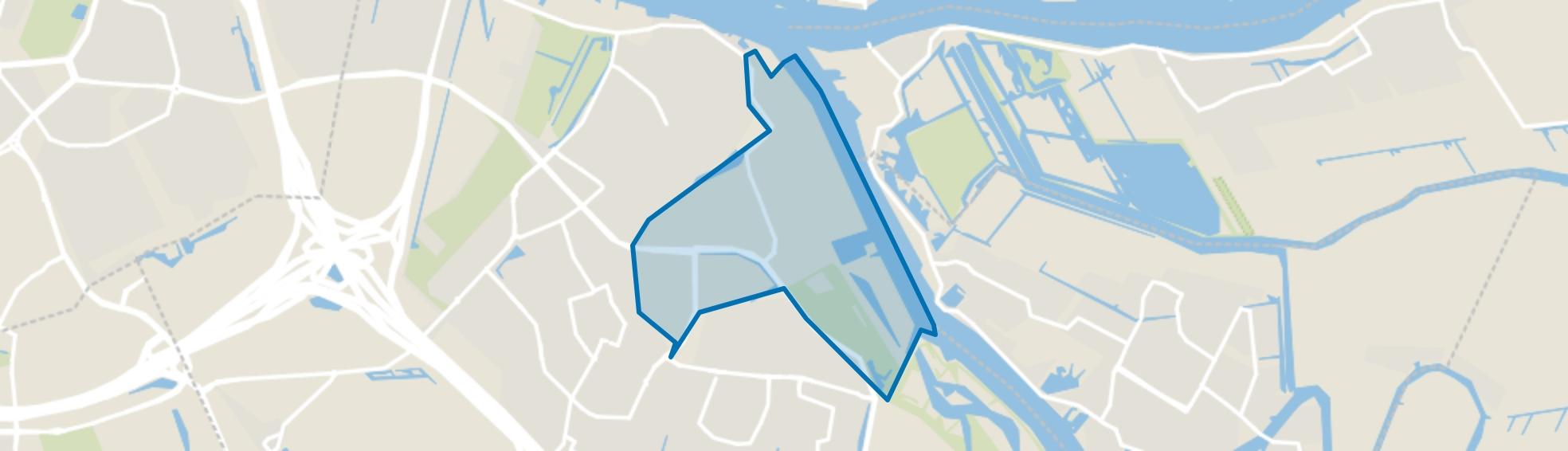 Donkersloot, Ridderkerk map
