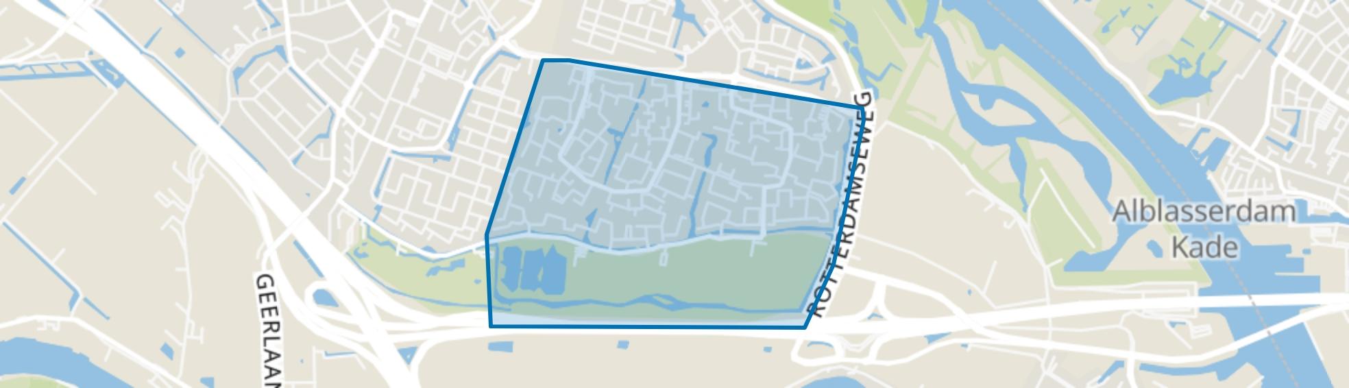 Drievliet, Ridderkerk map