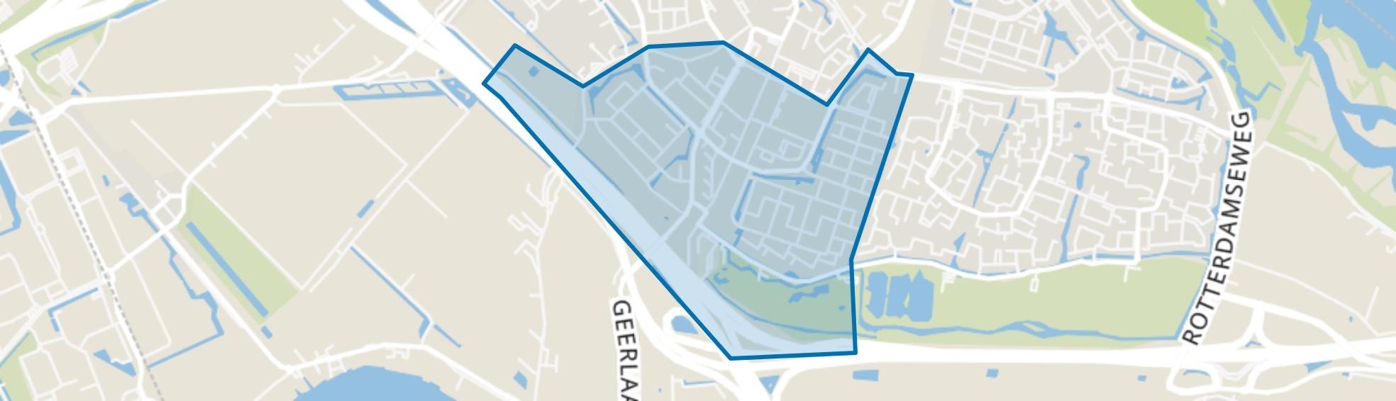 Oost, Ridderkerk map