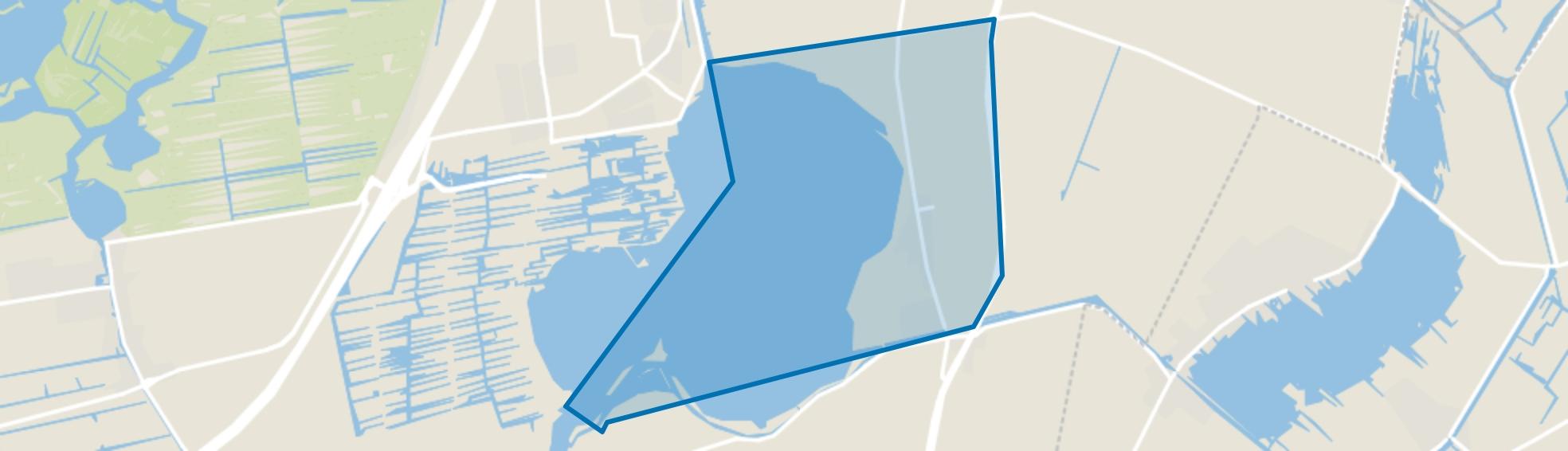 Rijnsaterwoude, Rijnsaterwoude map