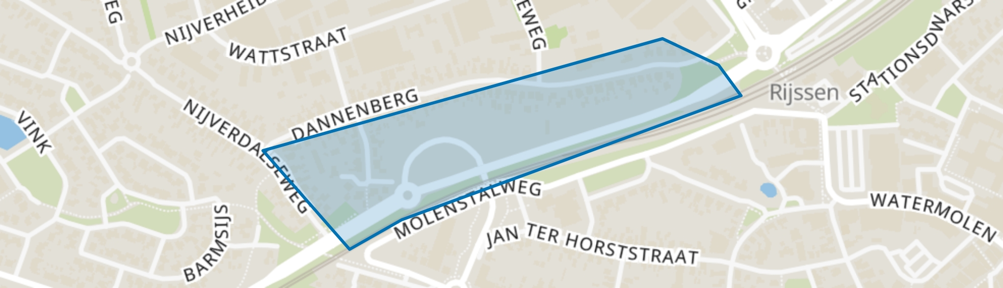 Dannenberg, Rijssen map