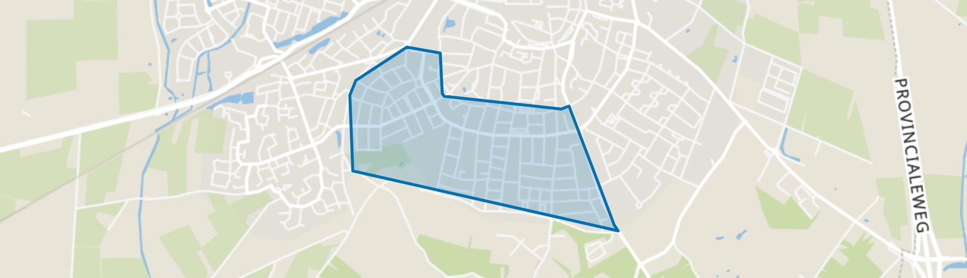 De Delle, Rijssen map