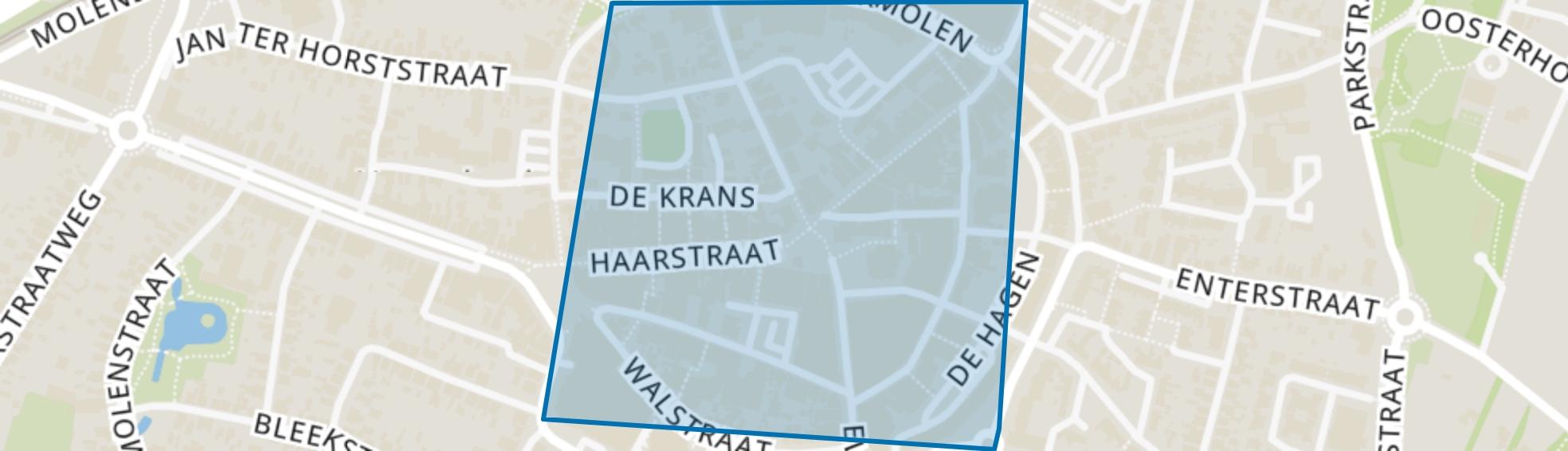 Kern-Rijssen, Rijssen map