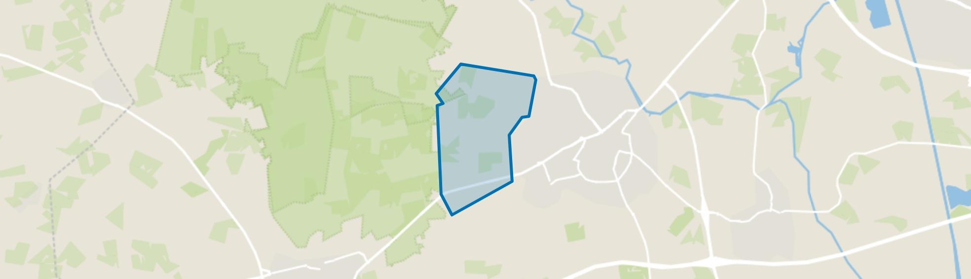 Verspreide huizen Ligtenberg, Rijssen map