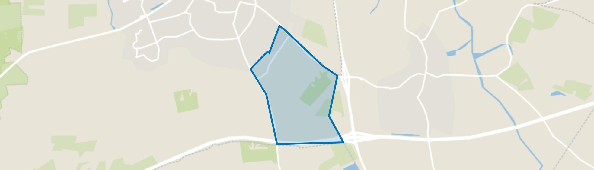 Verspreide huizen Nieuwland en omgeving, Rijssen map
