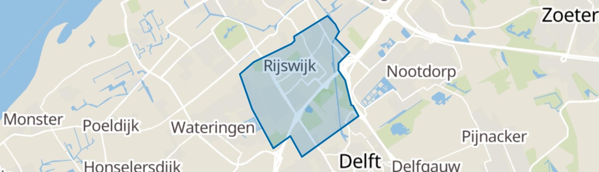 Rijswijk (ZH) map