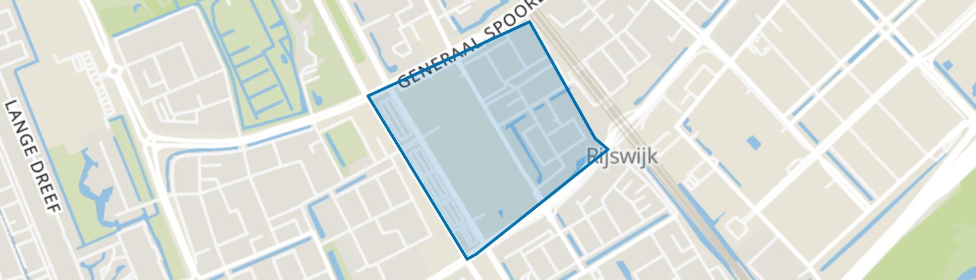 Artiestenbuurt, Rijswijk (ZH) map