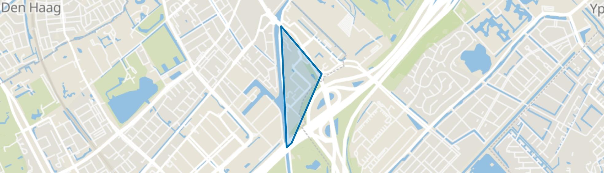 Broekpolder, Rijswijk (ZH) map