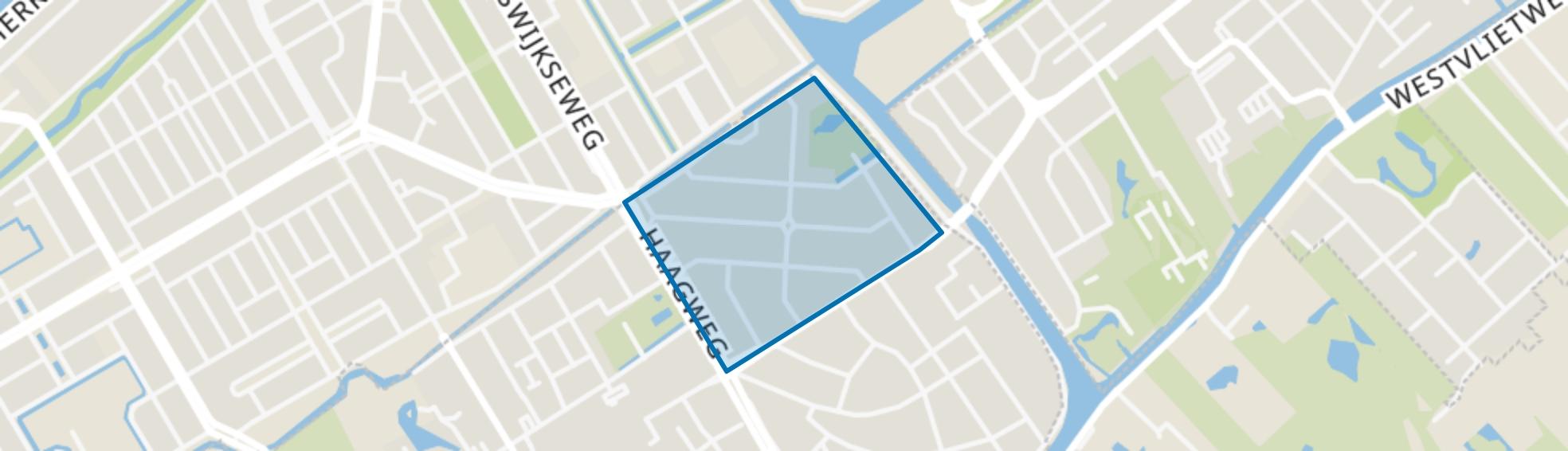 Cromvliet, Rijswijk (ZH) map
