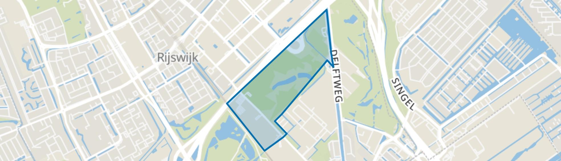 Elsenburg, Rijswijk (ZH) map