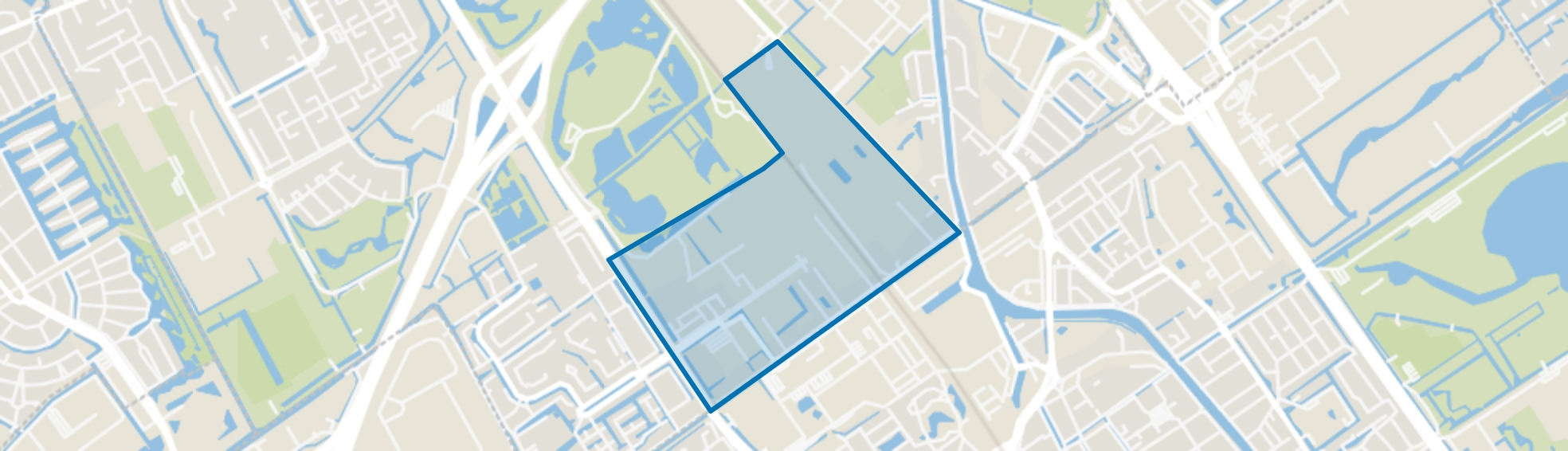 Haantje, Rijswijk (ZH) map