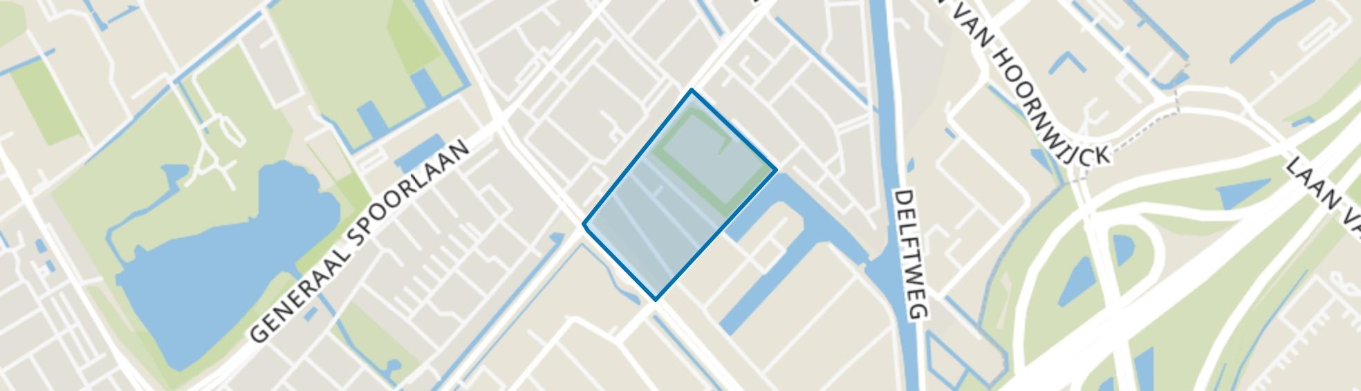 Havenkwartier, Rijswijk (ZH) map