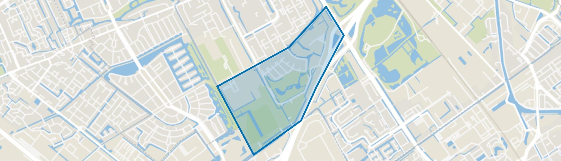 Hoekpolder, Rijswijk (ZH) map