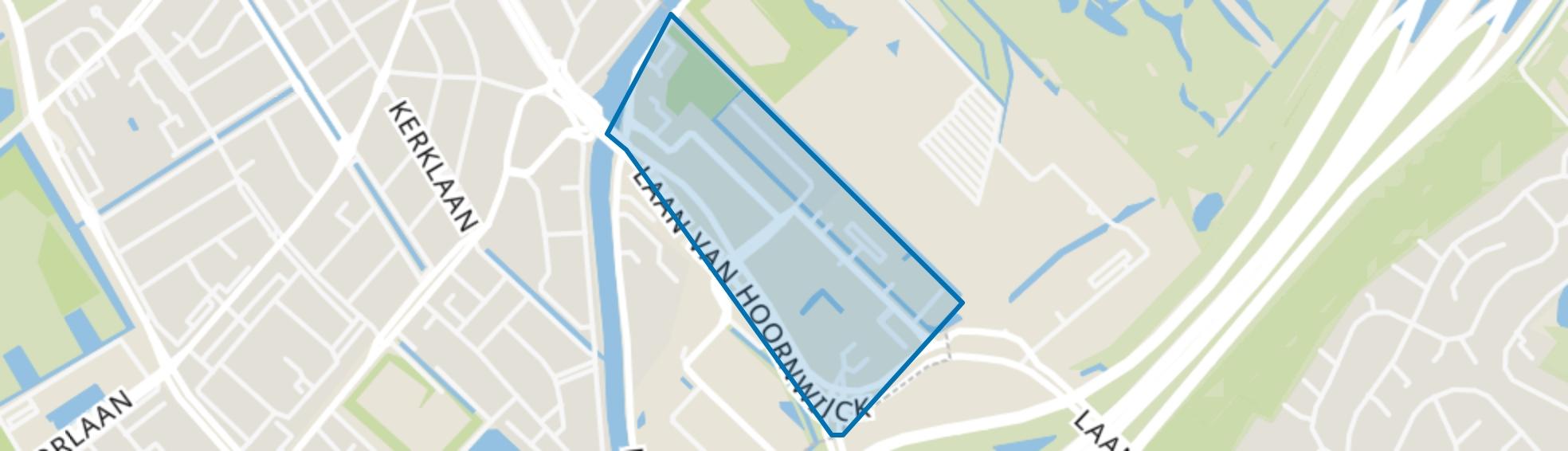 Hoornwijck, Rijswijk (ZH) map