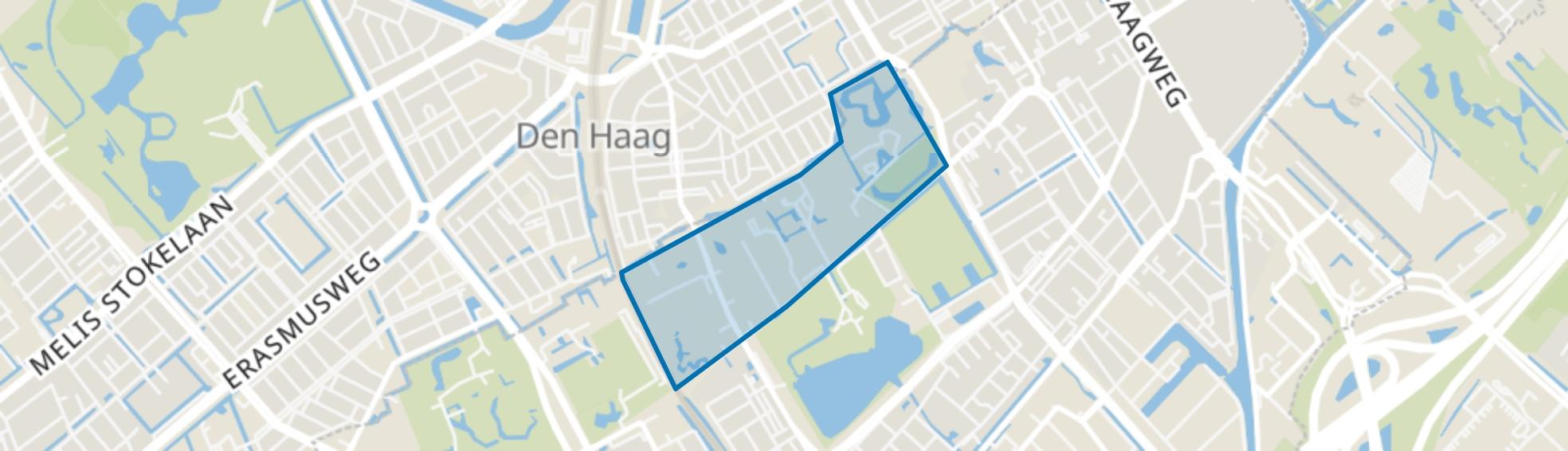 Julianapark, Rijswijk (ZH) map