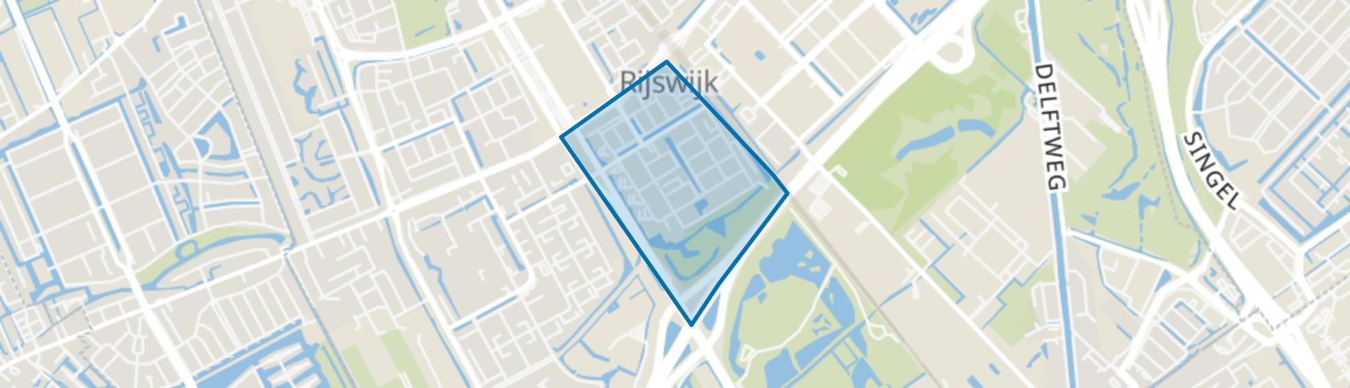 Muziekbuurt, Rijswijk (ZH) map
