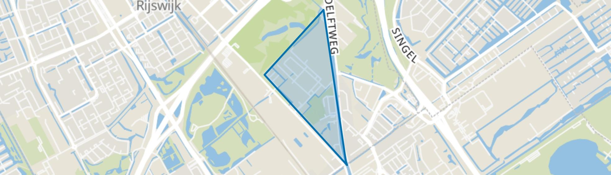 Pasgeld, Rijswijk (ZH) map