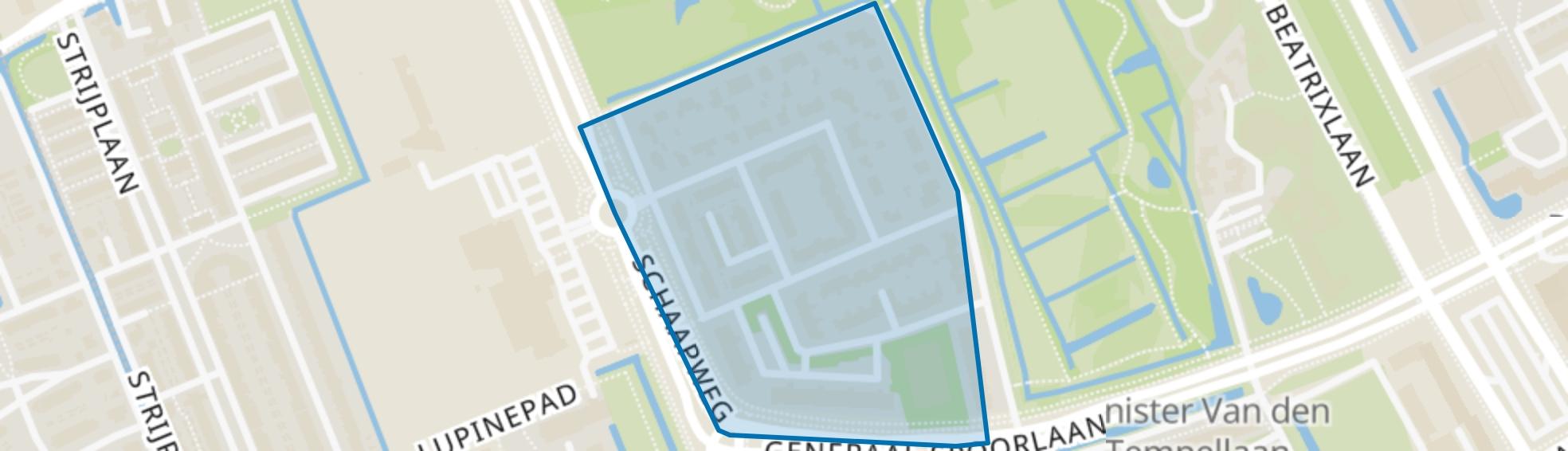 Presidentenbuurt, Rijswijk (ZH) map