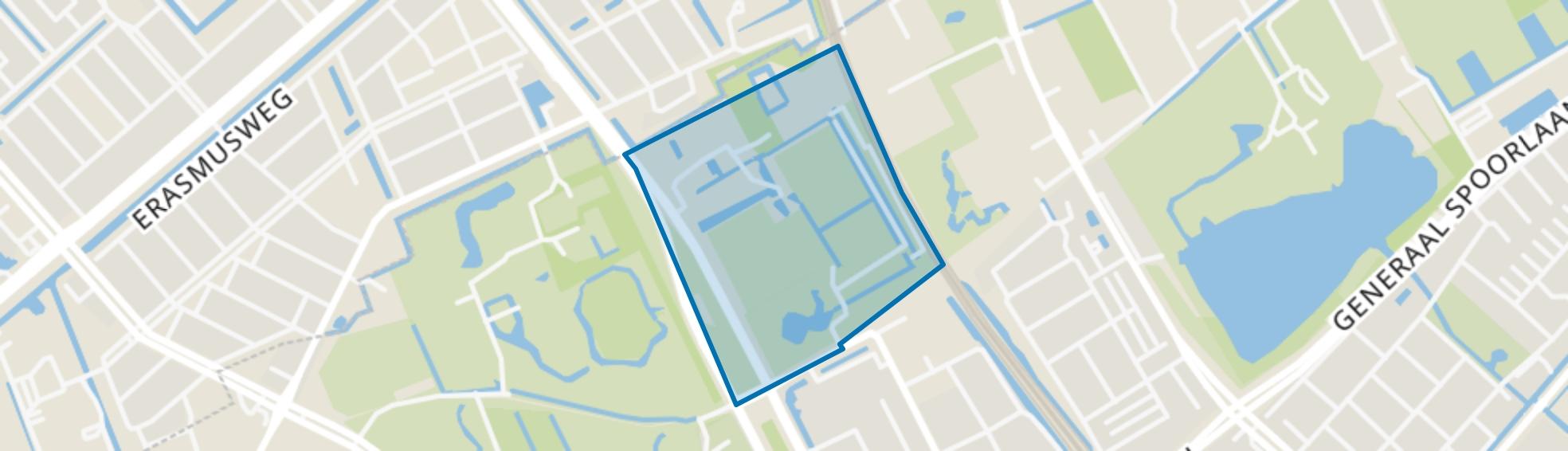 Spoorzicht, Rijswijk (ZH) map