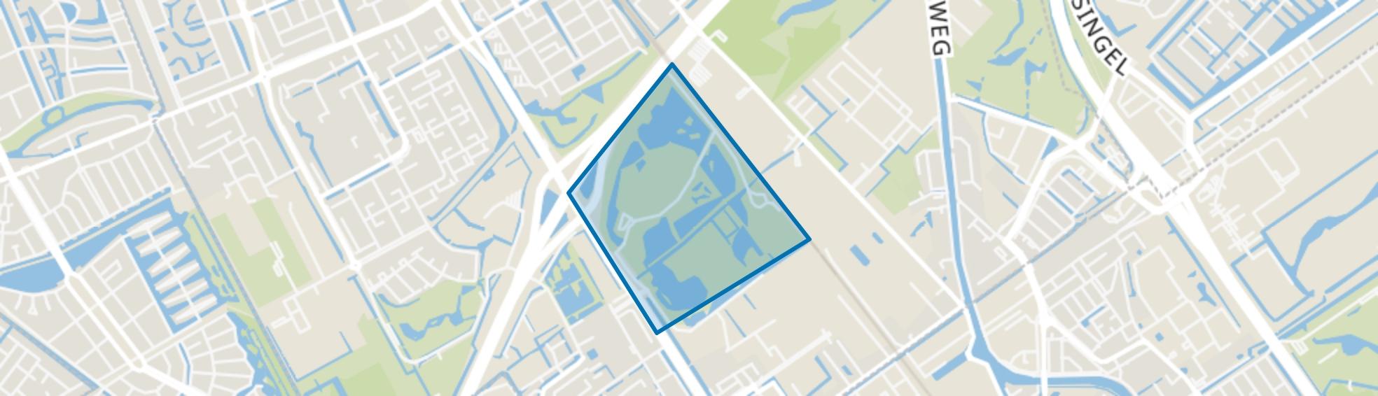 Wilhelminapark, Rijswijk (ZH) map