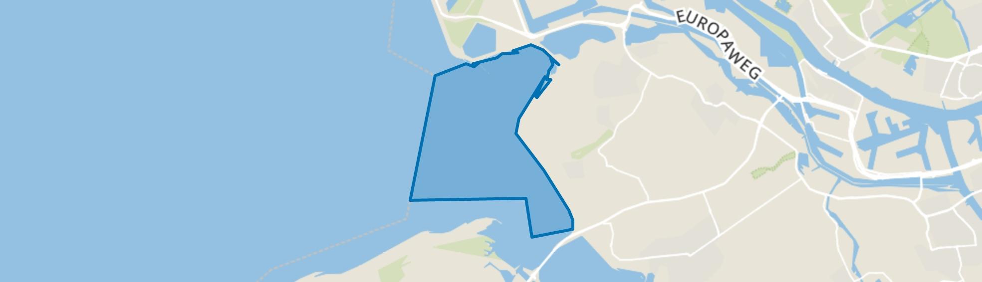 Water, Rockanje map