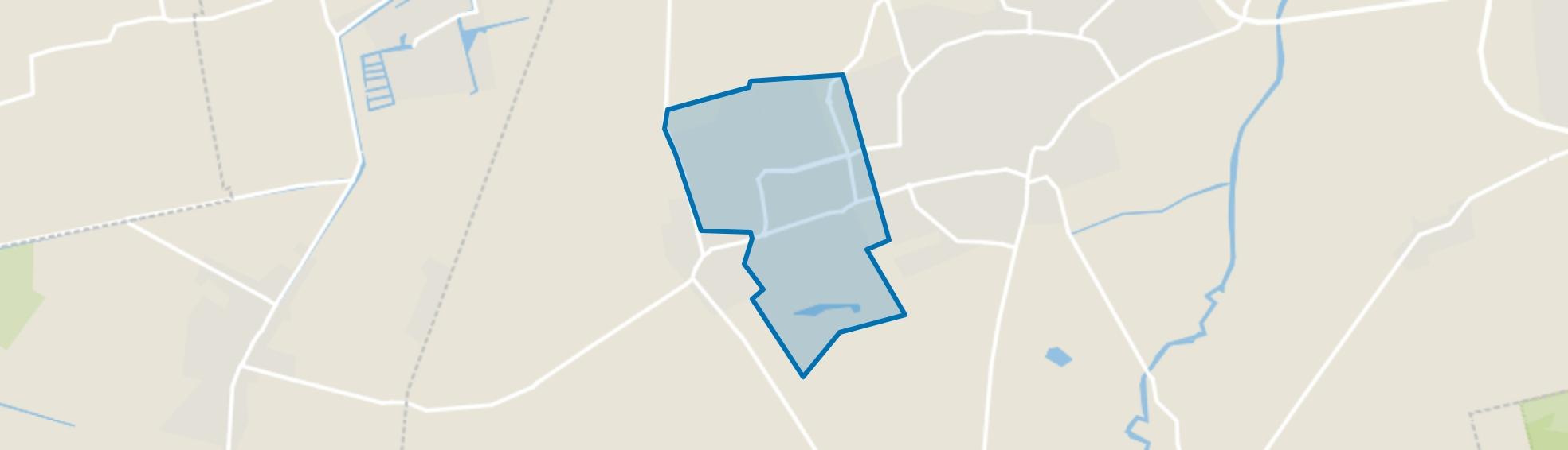 Roden West, Roden map